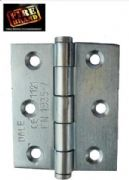 Hinges B/Zinc Class 7 75x50x2.2 (1.5PRS) Comes With Intumescent Plates